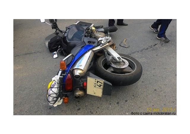 Еще один мотоциклист погиб в городе - во Фрунзенском районе