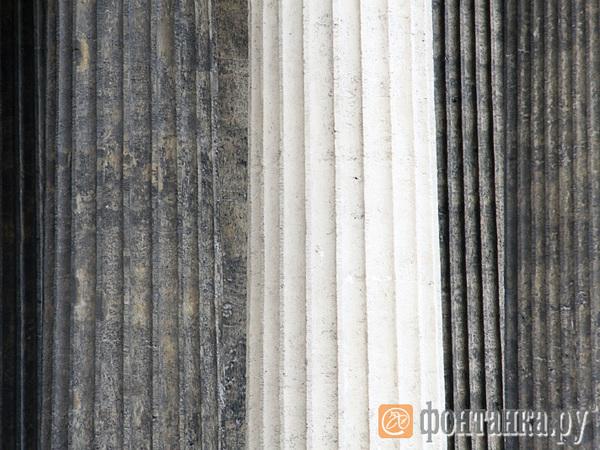 КГИОП: Казанский собор реставрируется по утвержденной методике