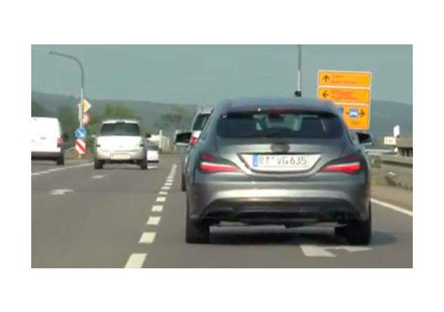 Mercedes обновит свой самый маленький универсал