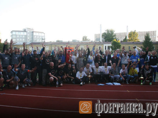 ФК «Донбасс» выиграл чемпионат по футболу среди команд с ДЦП
