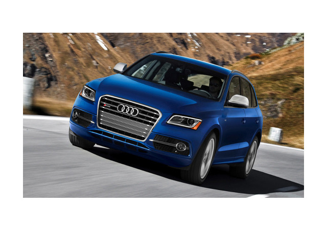 Audi отзывает в России 70 автомобилей SQ5