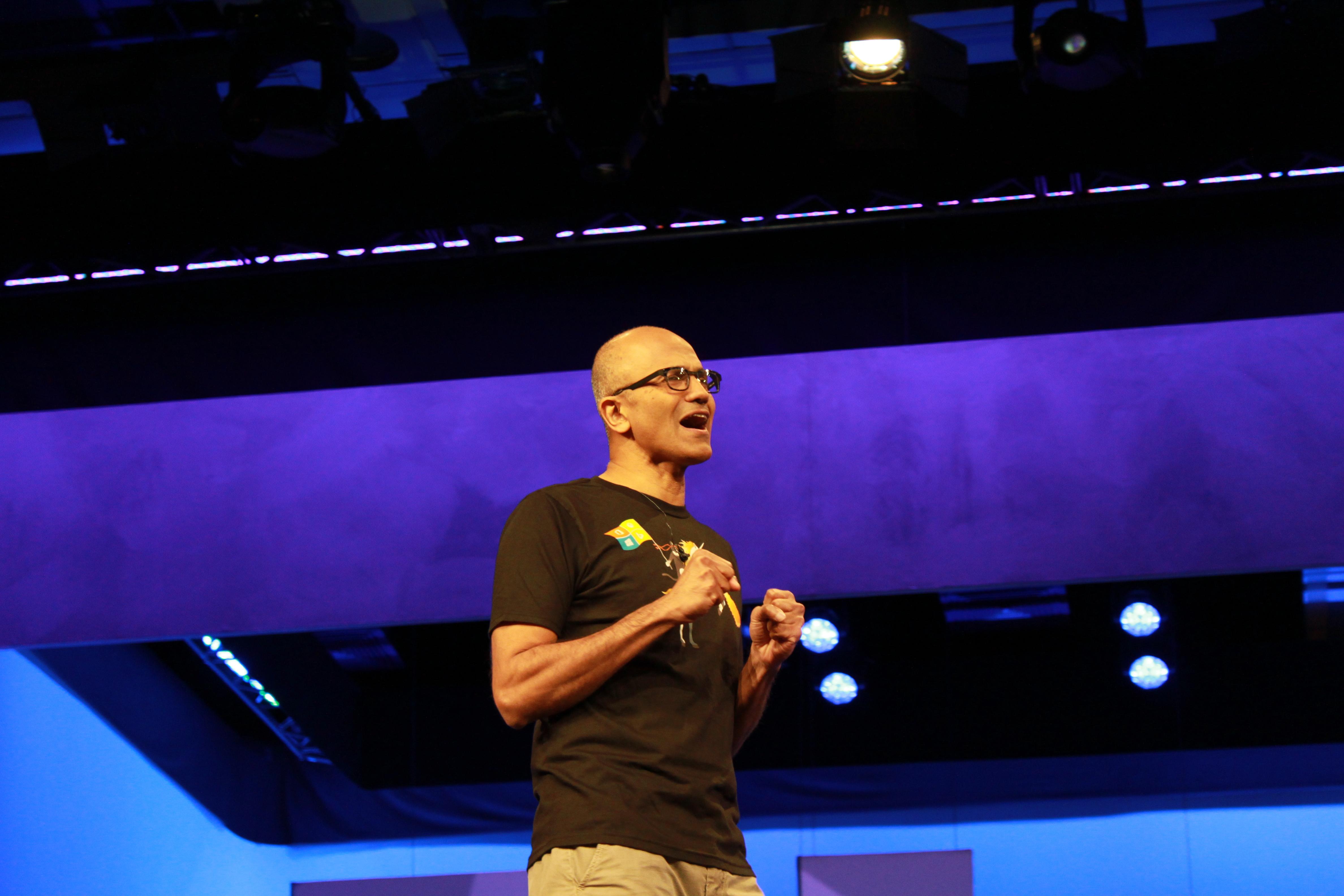 Сатья Наделла, генеральный исполнительный директор Microsoft.