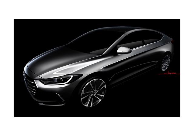 Hyundai почти рассекретил новую Elantra