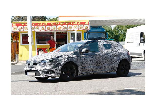 Новый хетч Renault Megane покажут в сентябре в Германии