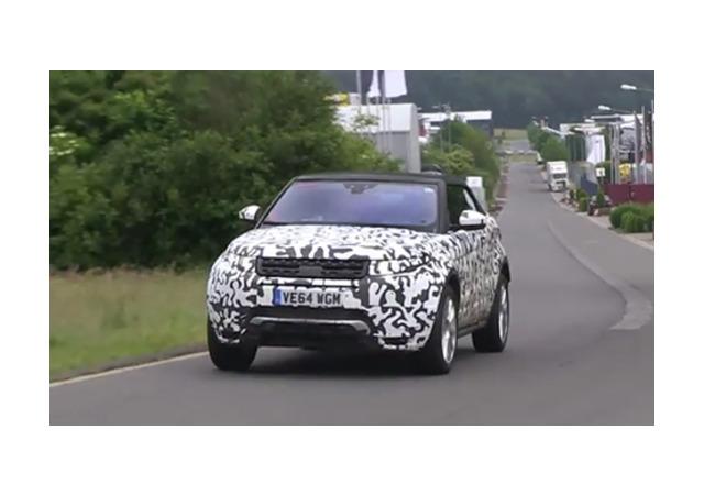 Range Rover сделал из Evoque кабриолет