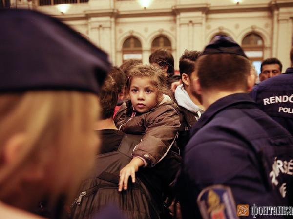 """Путь беженца в Европу глазами """"Фонтанки"""""""