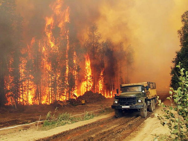 Байкал под контролем огня
