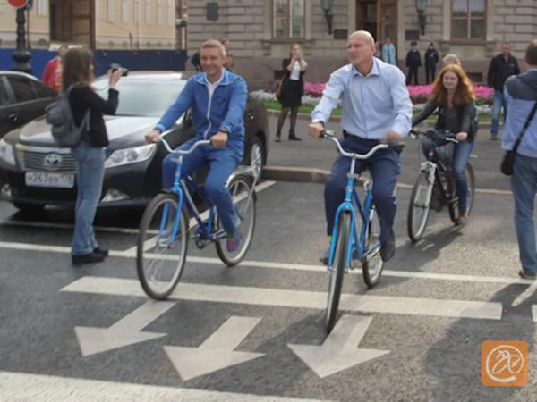 Шкура велосипедиста для депутата