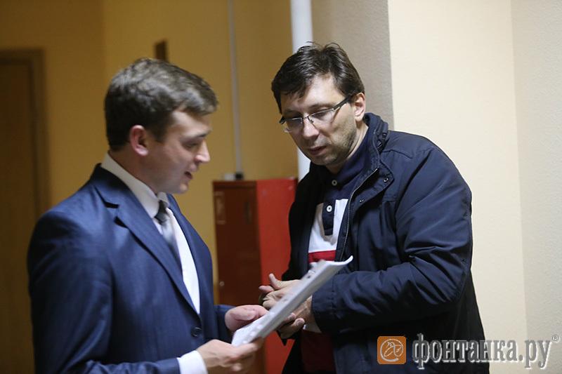 бывший член правления «Таврического» Дмитрий Гаркуша