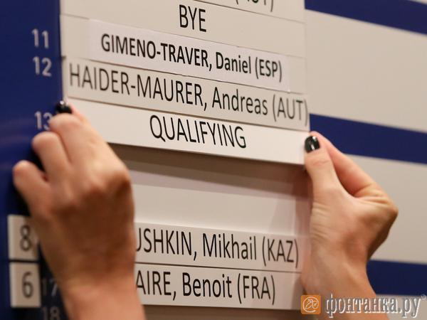 St. Petersburg Open 2015: Южный сыграет с Робредо в первом круге