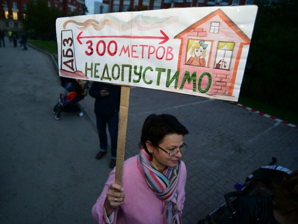 Албин пошел навстречу жителям и пообещал «выселить» два завода из Коломяг