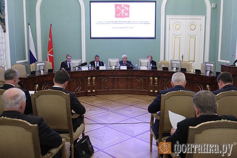 Заседание межведомственной комиссии по подготовке и проведению отопительного сезона