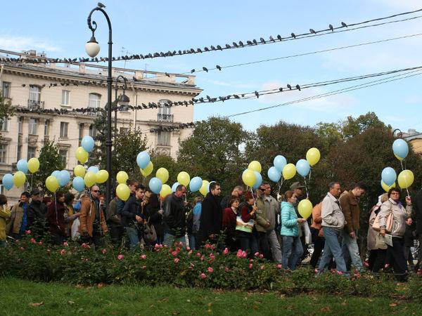 Полиция: В Марше мира в Петербурге участвовали 200 человек