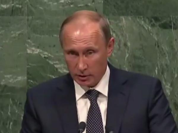 Путин рассказал ООН, кто расплодил террористов на Ближнем Востоке
