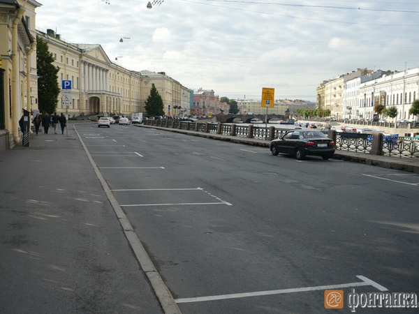 Центр Петербурга опустел