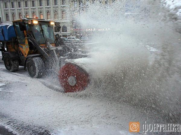 Битва со снегом. День первый