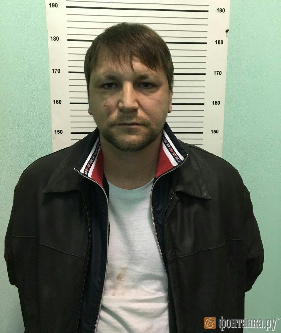 Маклюк сразу после задержания
