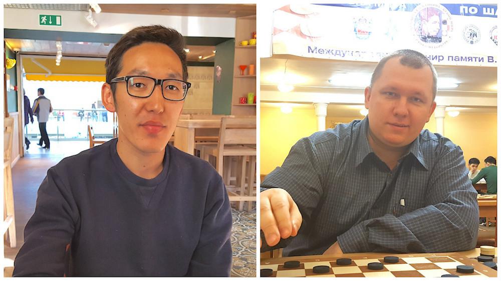 Николай Стручков и Евгений Кондраченко