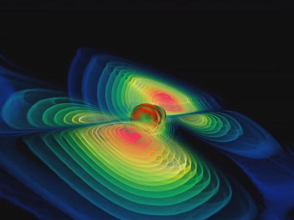 Как Земля поймала гравитационную волну
