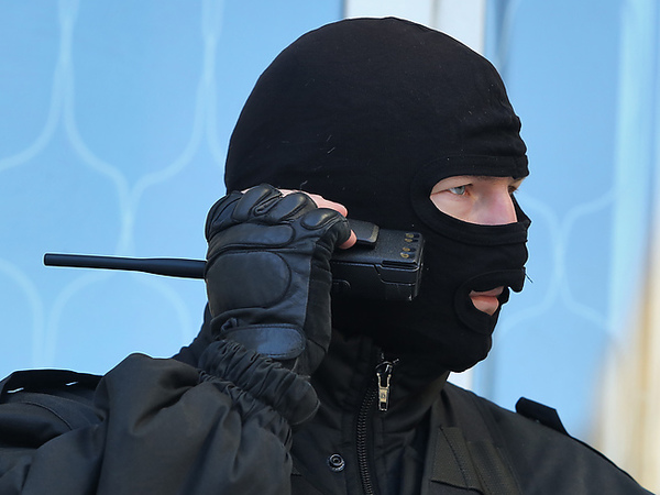 Полицейский вызвал «Тайфун» на себя