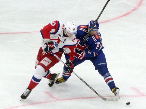 СКА одержал третью победу над «Локомотивом» в 1/8 финала Кубка Гагарина