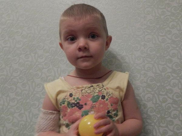 Двухлетней Олесе нужна помощь, чтобы окончательно победить лейкоз