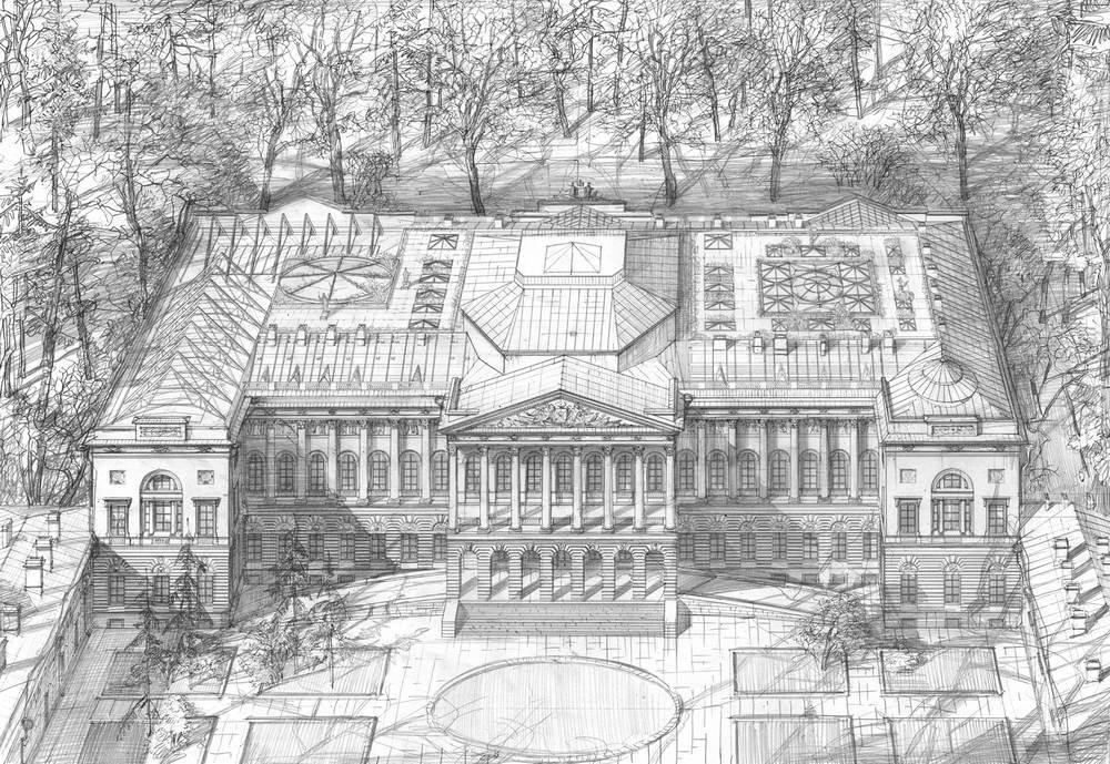 Концепция реконструкции Михайловского дворца