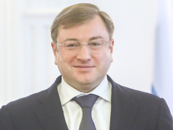 Арестованный Михальченко у аппарата