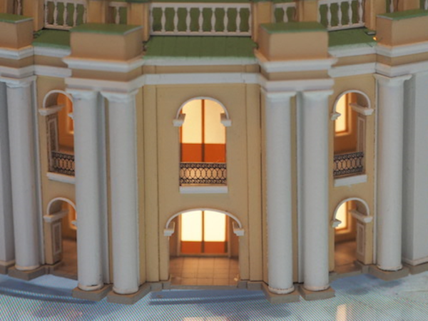 Архитектор Евгений Герасимов в прямом эфире [Фонтанки.Офис] презентовал проект реконструкции Гостиного Двора