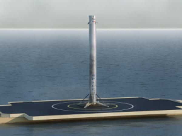 Ракета впервые в истории осуществила вертикальную посадку в океане. Обсудили это событие в эфире [Фонтанки.Офис]