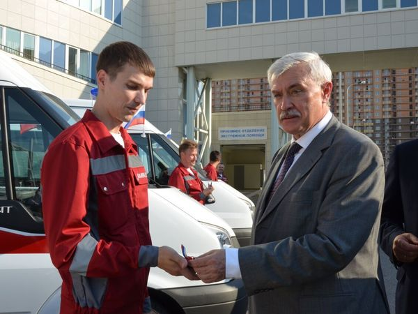 В Петербурге отказываются от частных автомобилей для «Скорой помощи»