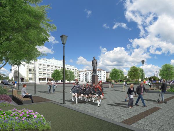 Акционеры «Юлмарта» реконструируют территорию у памятника Дзержинскому на Шпалерной