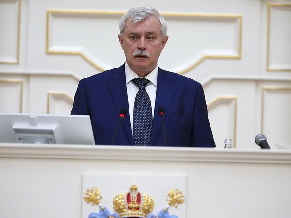 Губернатор рассказал ЗакСу, как Петербургу жить хорошо