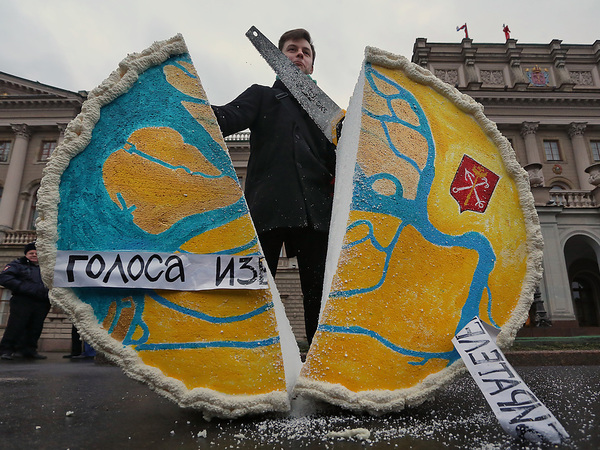 Петербургу грозят выборами с нарушениями