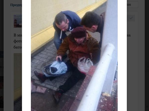 В Петербурге пенсионерка оказалась в больнице после конфликта с охранником «Пятёрочки»