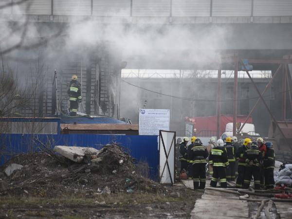 Возгорание в вентиляционной шахте метро в Обухово локализовано