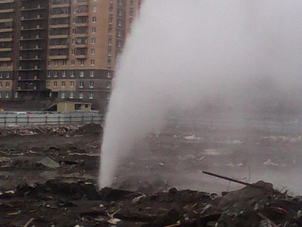 """При строительстве """"Северной долины"""" повредили трубопровод на Парнасе"""