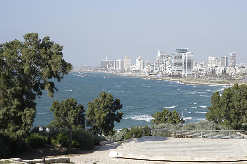 Вид на Тель-Авив. Фото автора