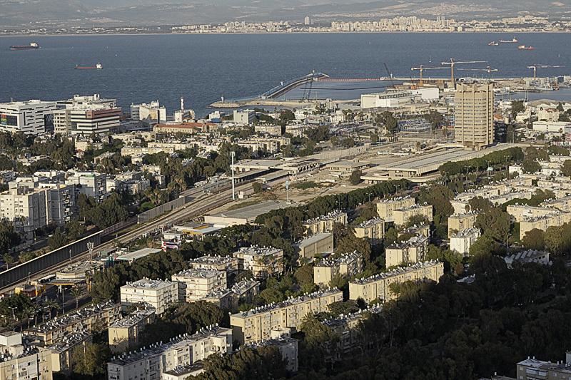 Вид Хайфы. Фото автора