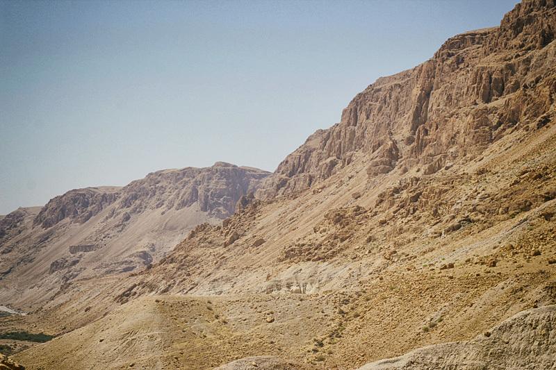 Район Мертвого моря. Фото автора
