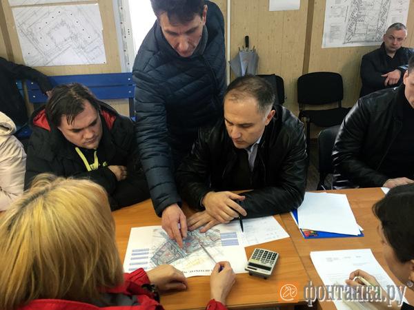 Оганесян опять решает вопросы в Петербурге