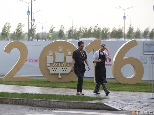 Ливни будут сопровождать город все три дня ПМЭФа