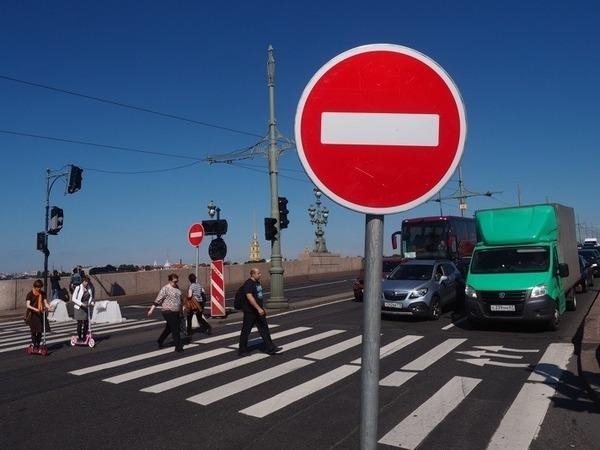 Пробки в Петербурге: все только начинается