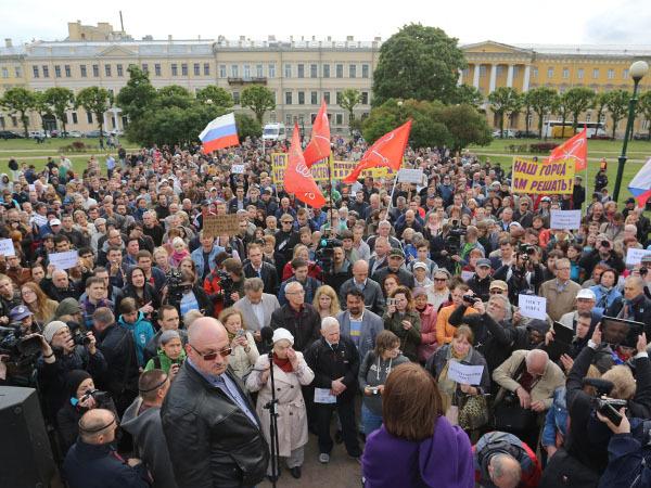 Петербуржцы сказали про мост Кадырова