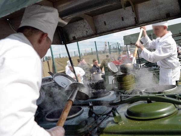 Кухня частной армии