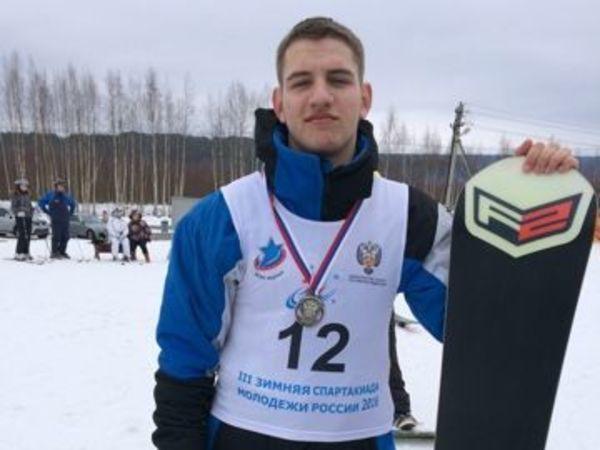 Поможем юному сноубордисту с инвалидностью попасть на чемпионат мира