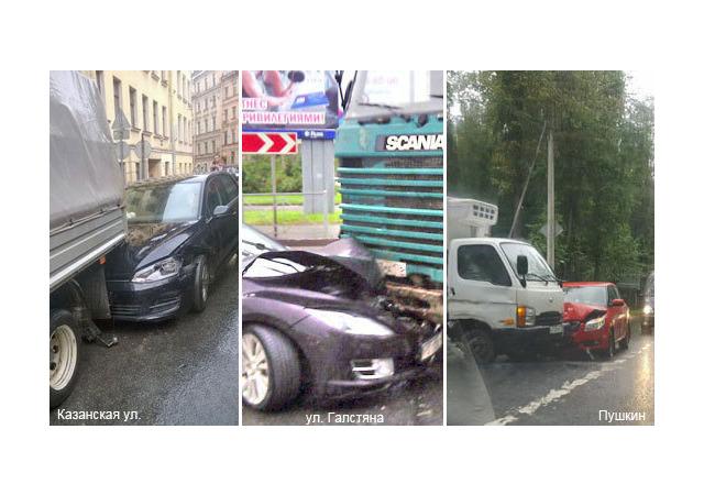 ДТП с грузовиками: на Казанской из-за «милой девушки» дорожники прервали работу
