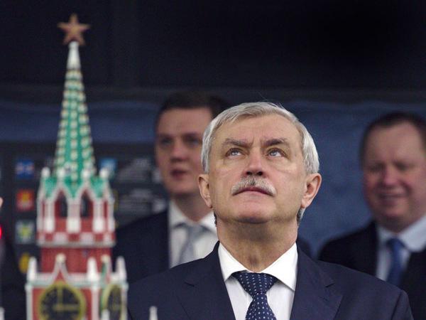 Сколько раз Полтавченко уже отправляли в отставку
