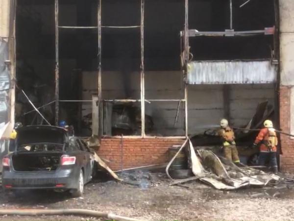 Пожар на Киевской локализован