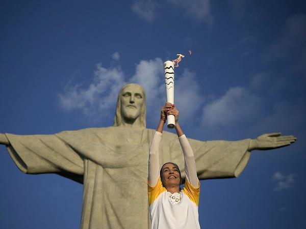 В Бразилии официально открылась Олимпиада